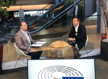Συνέντευξη στο Στρασβούργο για το TRT