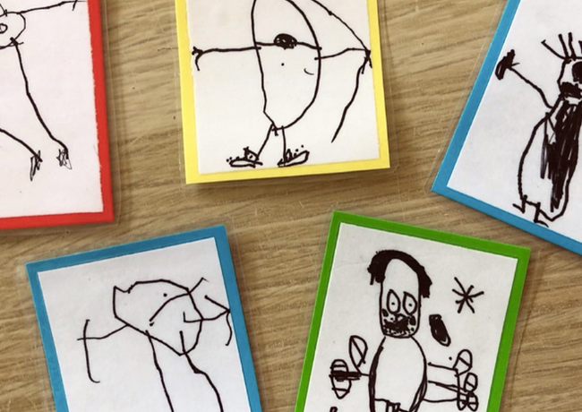 dessins d'enfants