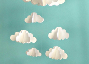 Construire un mobile de nuages