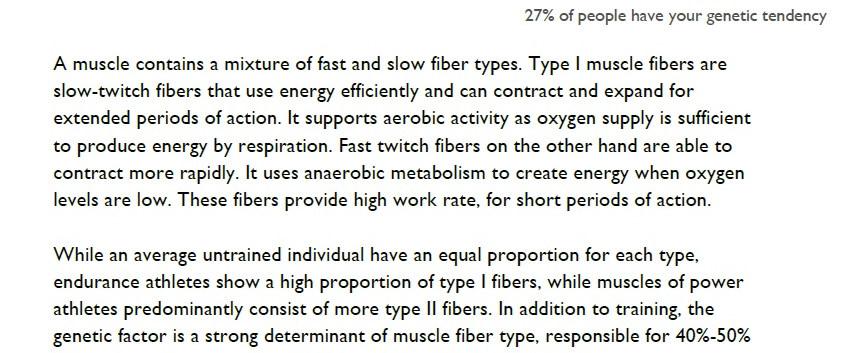 Fast\Slow Muscle Fiber