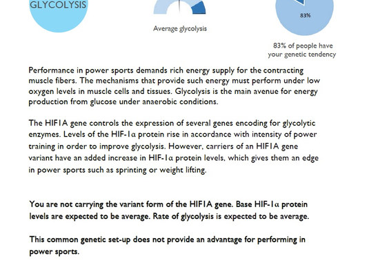 Glycolysis power supply
