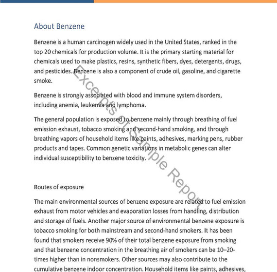 About Benzene