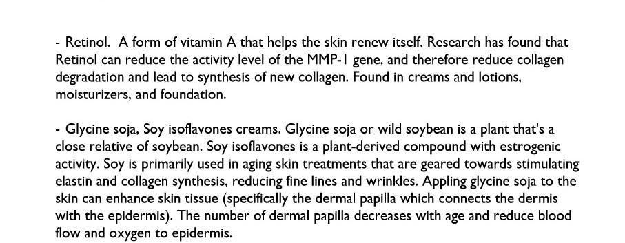 Skin Elasticity test 4 Genetic Analysis