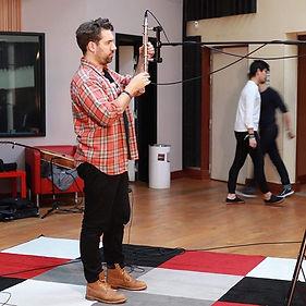 In studio #blumlein #royermicrophones #r