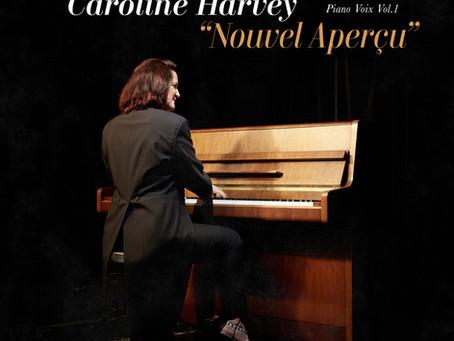 Sortie du 1er EP de Caroline Harvey - Piano Voix Vol.1 : Nouvel Aperçu