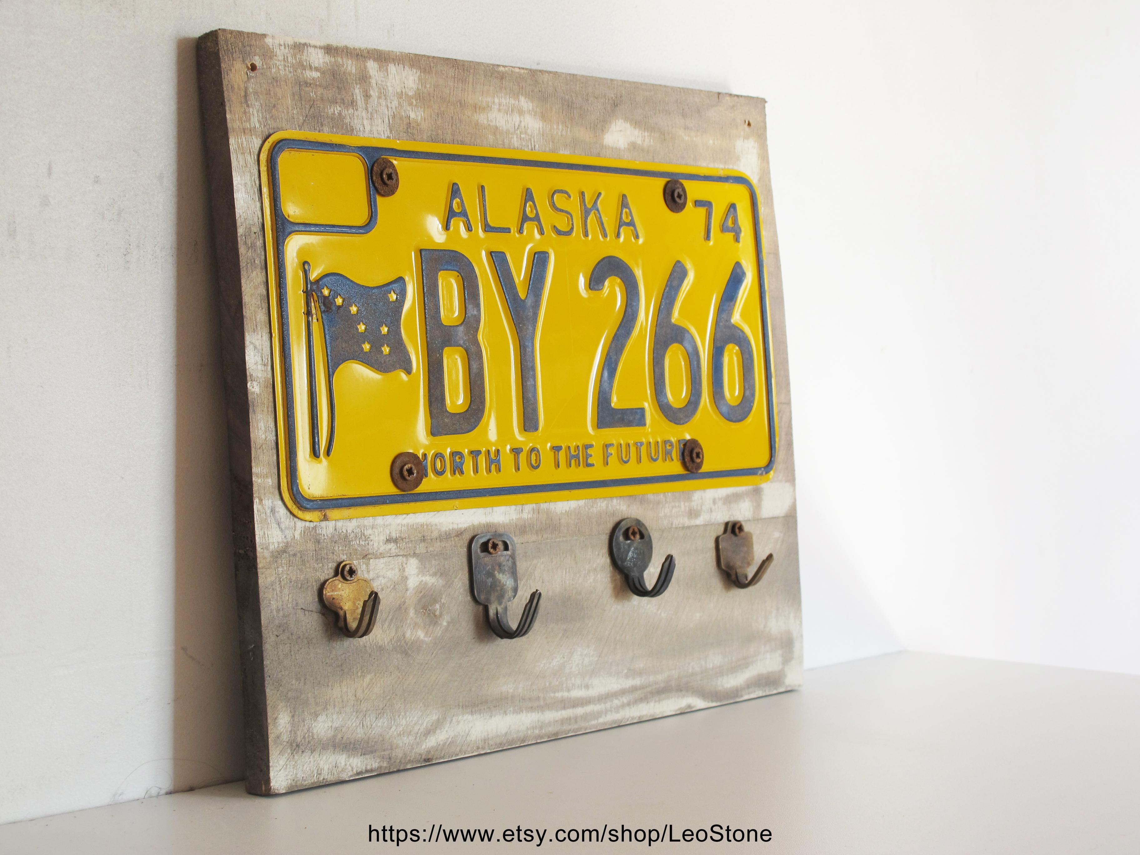 key hanger alaska plate
