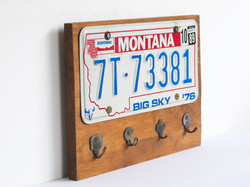 key hanger montana usa plate