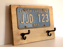 coat hanger south carolina plate