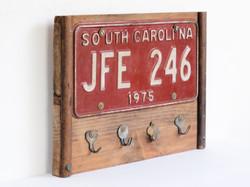 key hanger south carolina plate