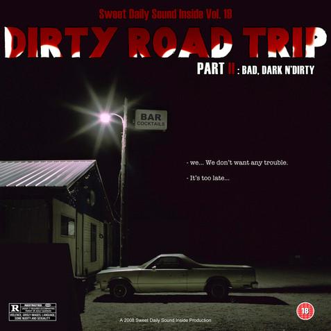 mixtape cover Vol.19 dirty road trip 2.j