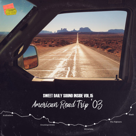 american road trip mix tape monument val