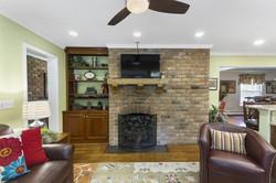 second fireplace