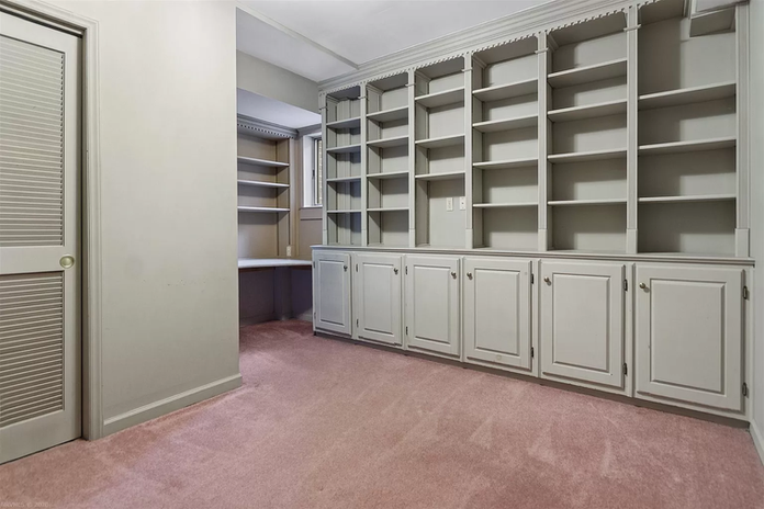 office with built ins