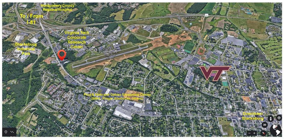 2206 S Main proximity to locations