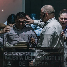 Ordaining Pastor Juan Carlos