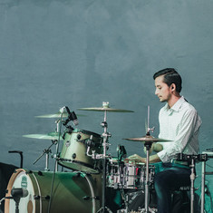 Jr on the Drums
