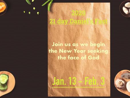 21 DAY DANIEL'S FAST