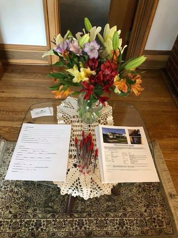Opne House Flowers