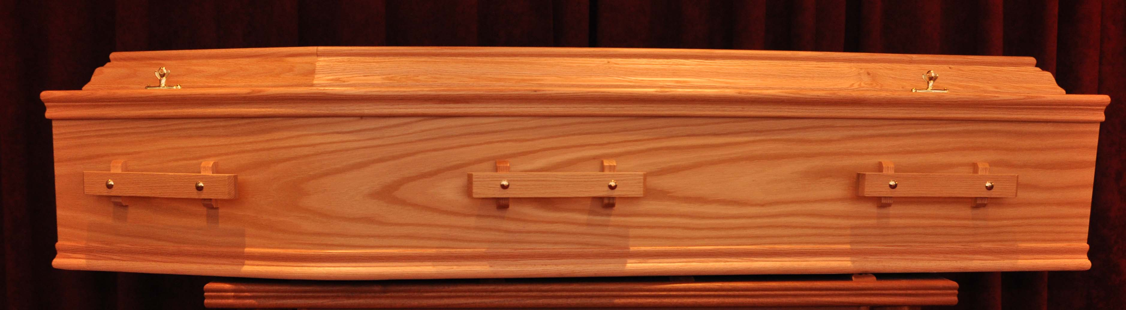 Veneer oak timber handle