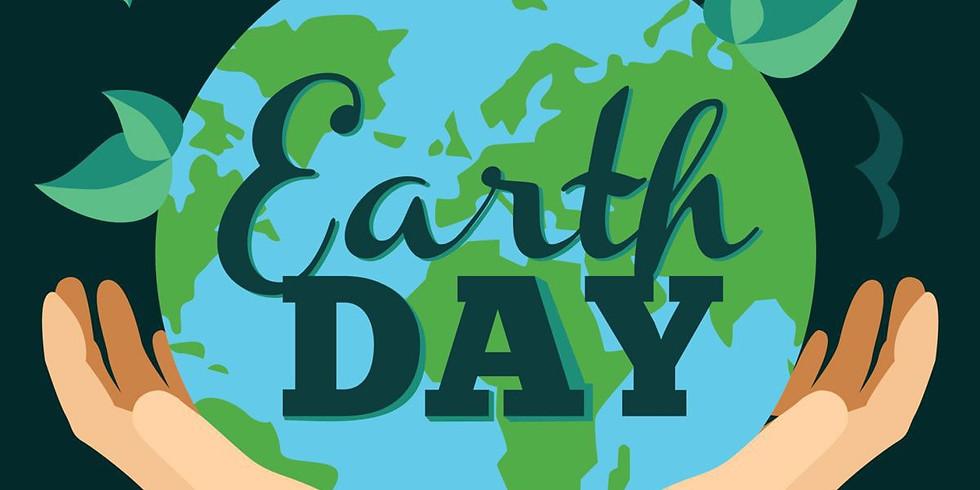Earth Day Seed and Chalk Fun