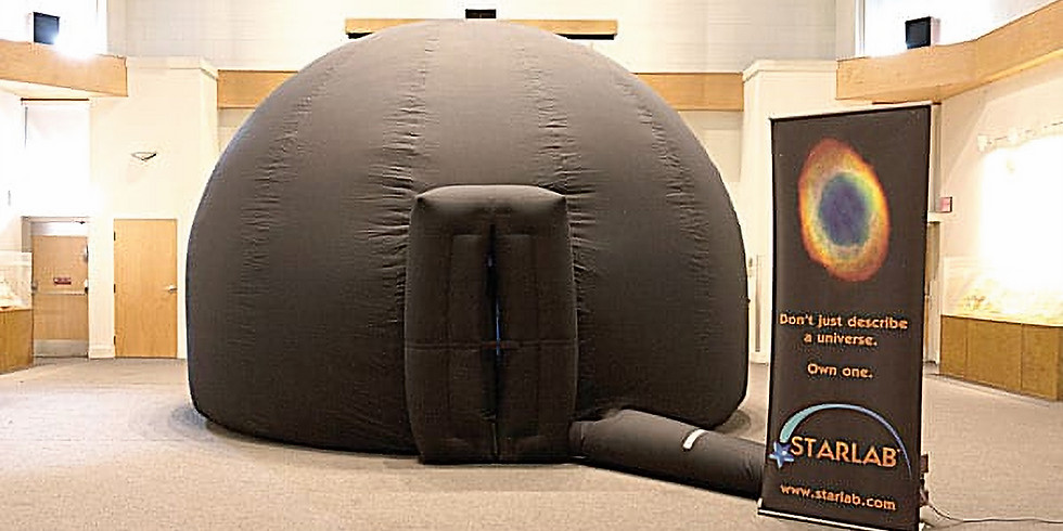 StarLab at RR Nature Center (Friday)