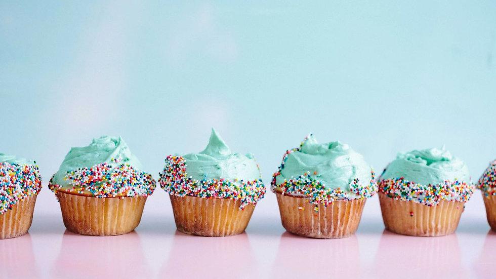 Dozen Mini Cupcakes 240MG