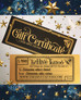 Holiday Gift Certificate Sale!