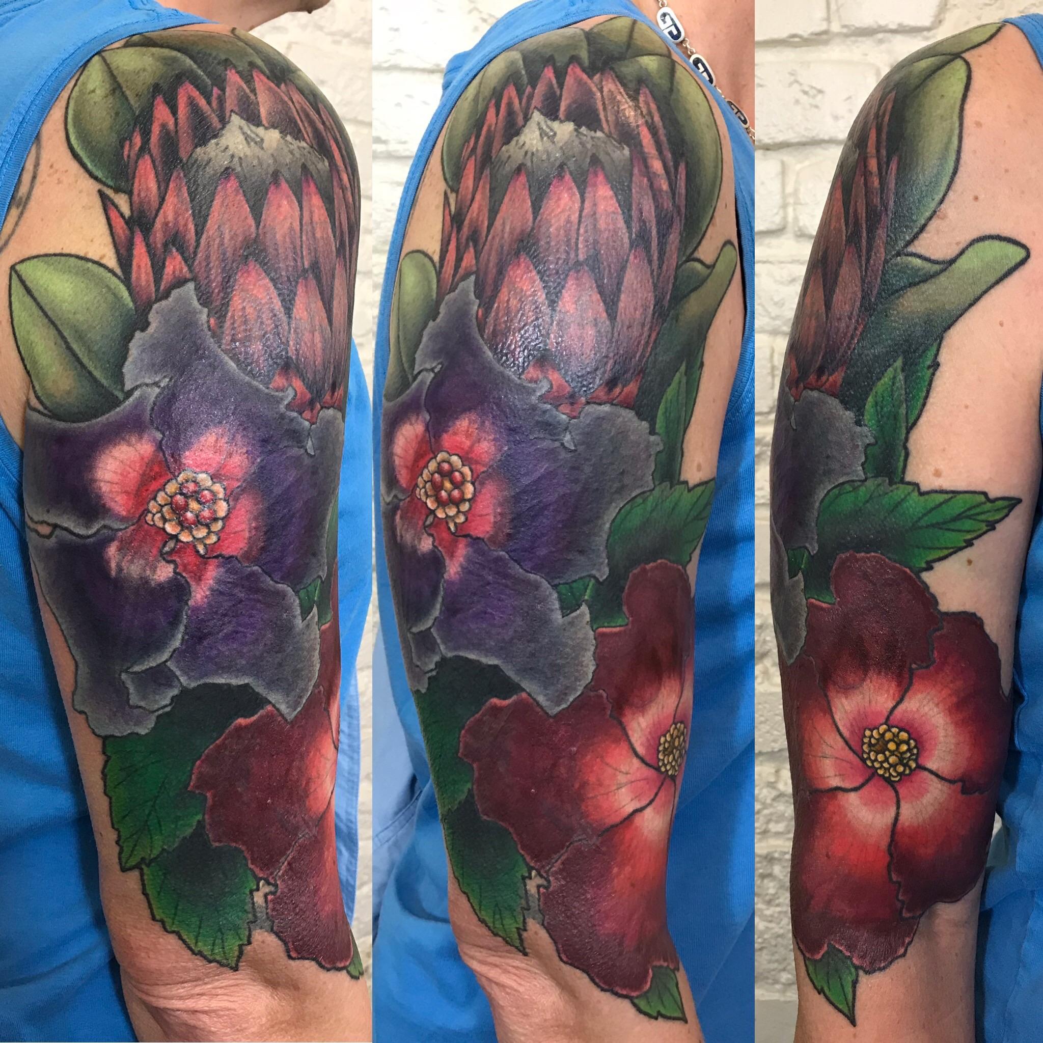 Cheryl floral coverup portea hibiscusIMG