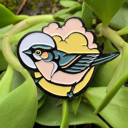Enamel Bird Pin