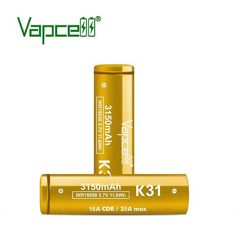 Vapcell K31 18650 battery