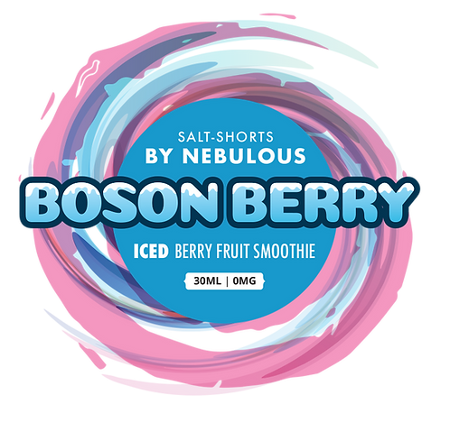 Salt-Short Boson Berry ICE by Nebulous(for MTL)