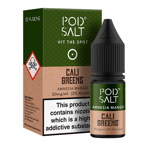 Amnesia Mango Salt E-Liquid by Pod Salt