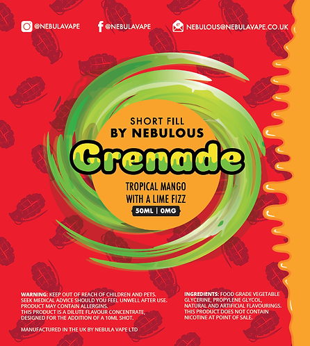 Grenade by Nebulous (for Sub-Ohm)