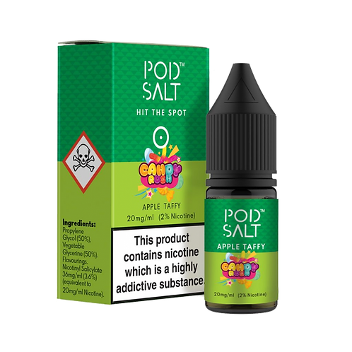 Apple Taffy Salt E-Liquid by Pod Salt