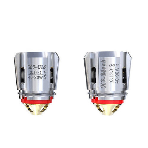 X3 Avenger Replacement Coils by iJoy (3 pack)