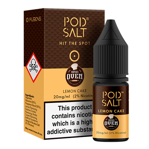Lemon Cake Salt E-Liquid by Pod Salt