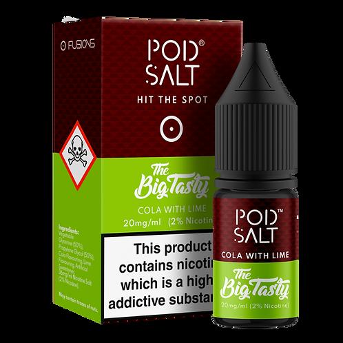Cola with Lime Salt E-Liquid by Pod Salt