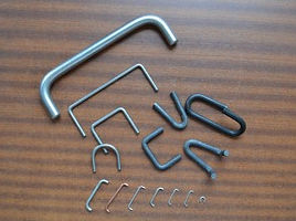Various wire formed components