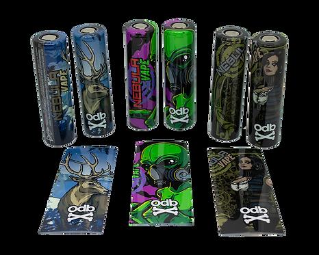 Nebula ODB Battery Wraps (6 pack)