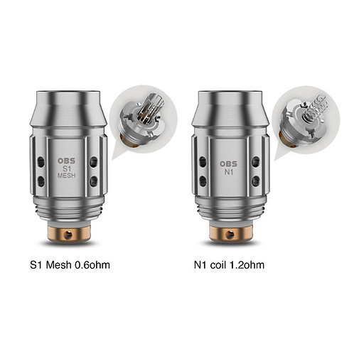 Cube Mini Coils by OBS (5 pack)