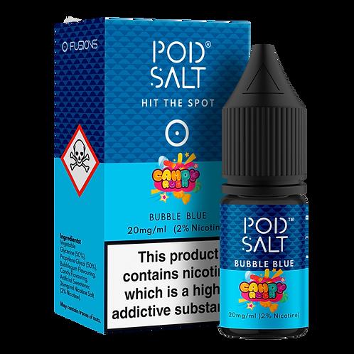 Bubble Blue Salt E-Liquid by Pod Salt