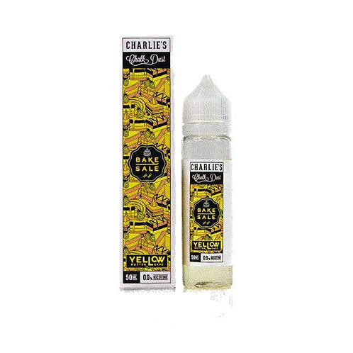 Yellow Wedding Cake by Charlie's Chalk Dust