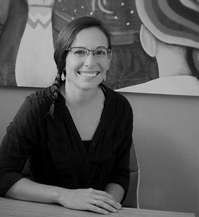 Maestra Martha R. Plaza, profesora española del INHUDOM.