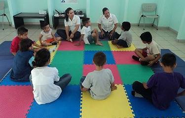 Evaluación de niñas y niños, con el enfoque humanista Gestalt.