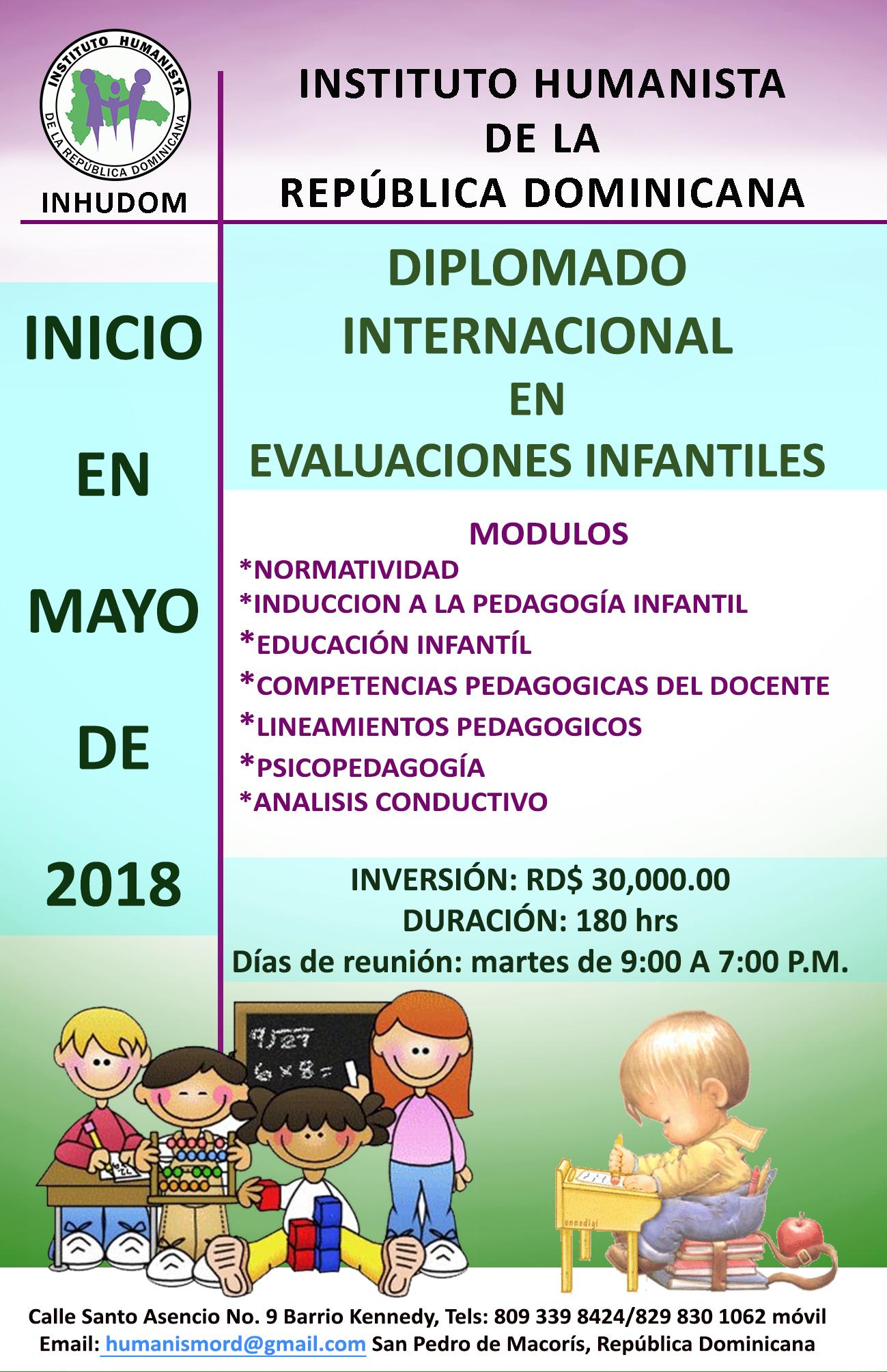 DIPLOMADO EN EVALUACION INFANTIL