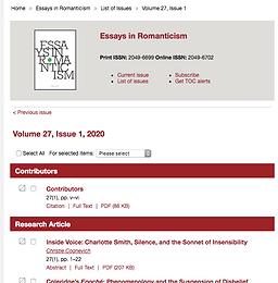 Scholarly Publication- April 2020