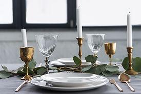 Rustik bordindstilling