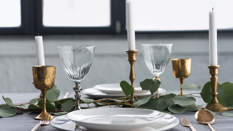 Rustic Table Setting