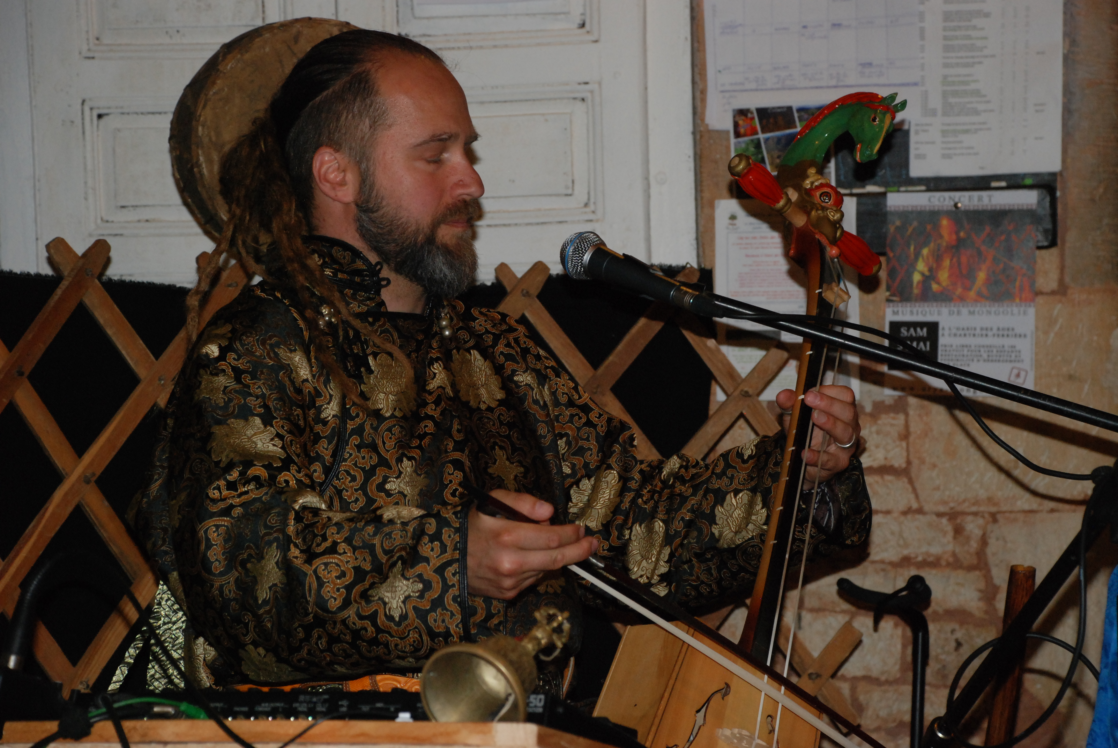 concert de musique mongole