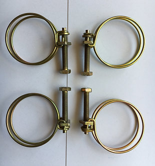 Late Style Yellow Zinc Clamp set for 1600